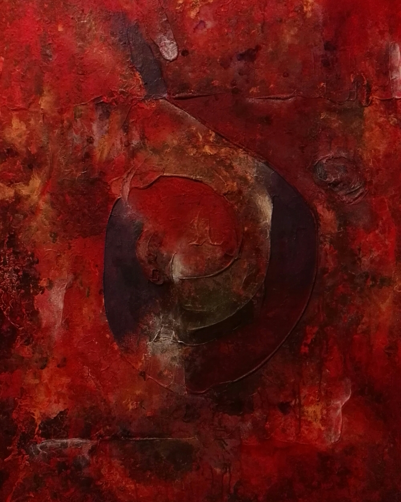 Croi VIII - Acrylic on Canvas