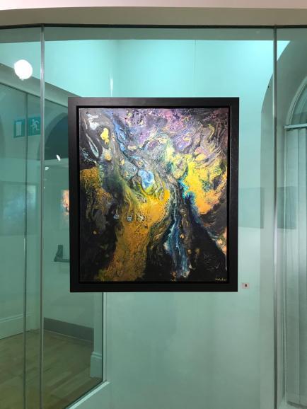 Kali Yuga- Mixed Media on Canvas
