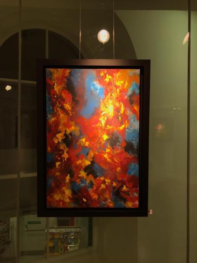 Komorebi - Acrylic on Canvas