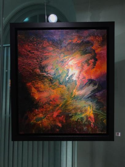 Otherworld - Mixed Media on Canvas